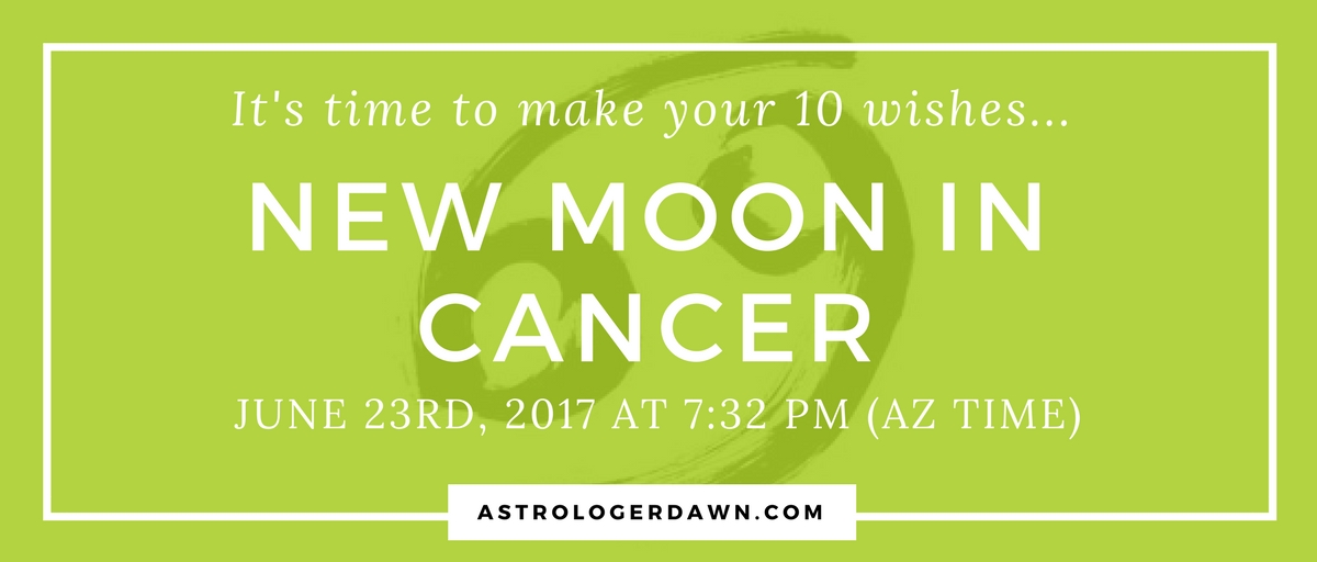 New Moon Wishes in Cancer | Astrologer Dawn