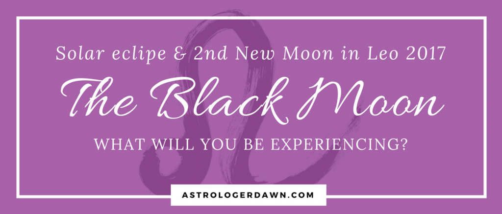 The Black Moon | Astrologer Dawn