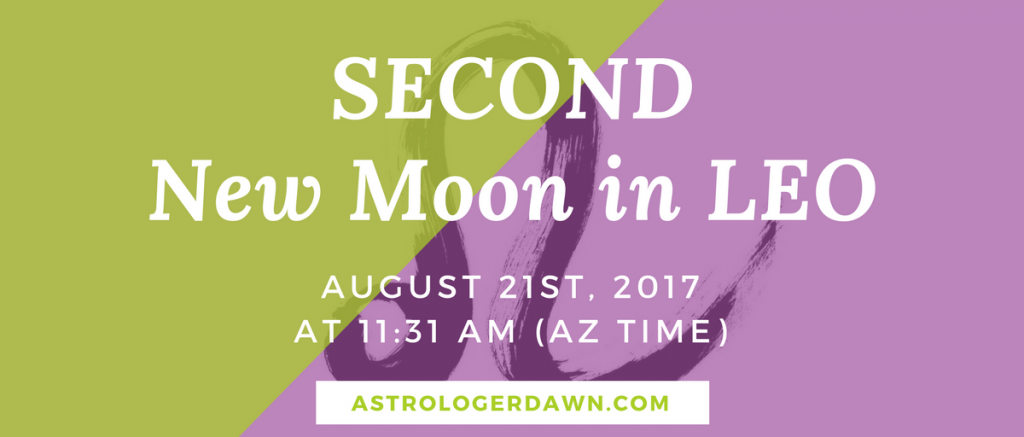 New Moon WIshes in LEO | Astrologer Dawn